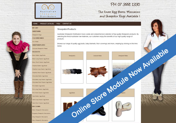 Online Store Module - Now Available